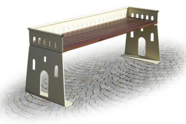Panchine da arredo urbano panchine arredo urbano legno oc for Helios arredo urbano